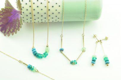 Des bijoux minimalistes et colorés pour la rentrée