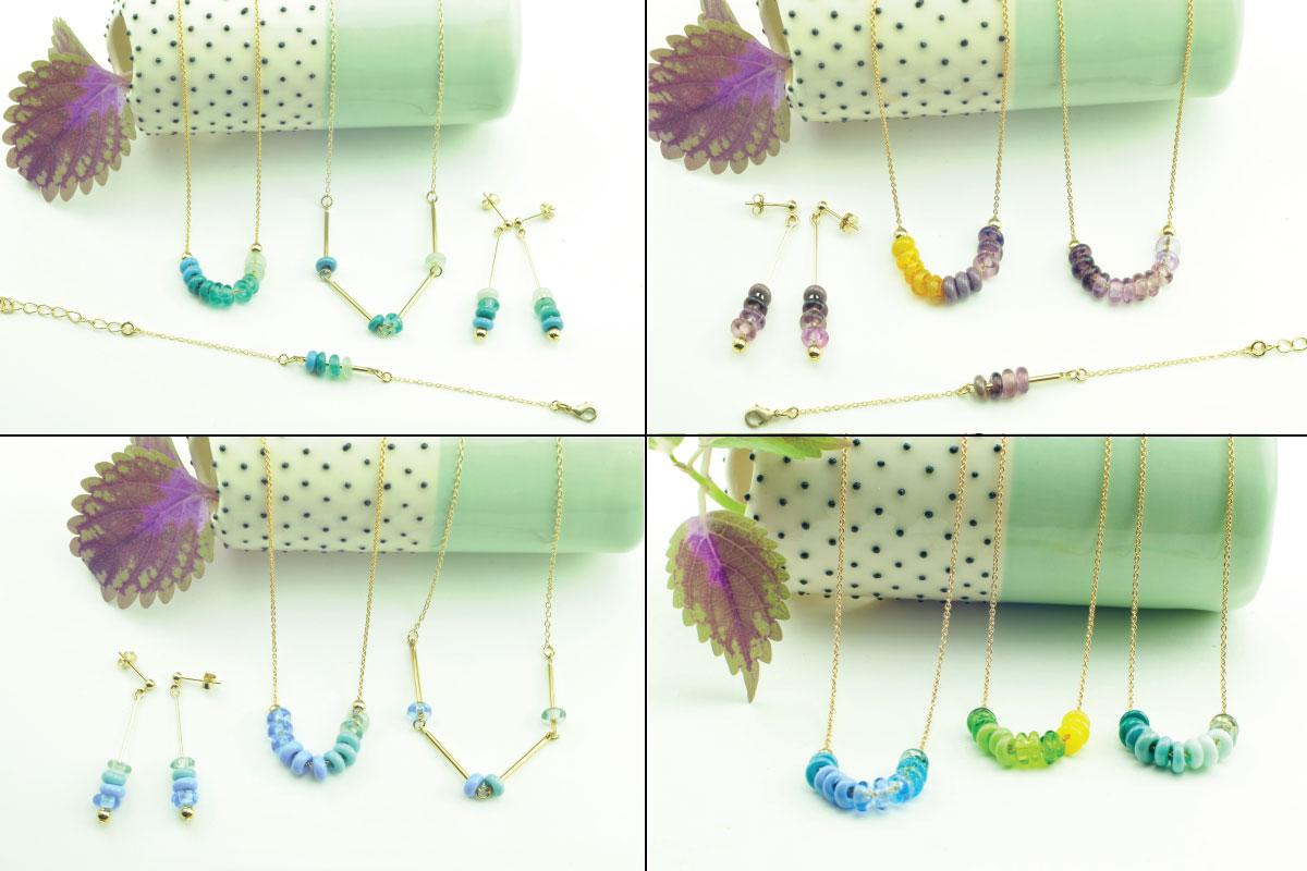 bijoux en verre paris création artisanale fait-main