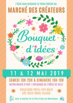 Marché de créateurs, Diatomée bijoux en verre Paris