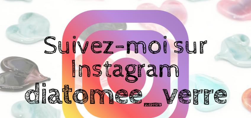 Suivez Diatomée bijoux en verre Paris sur Instagram