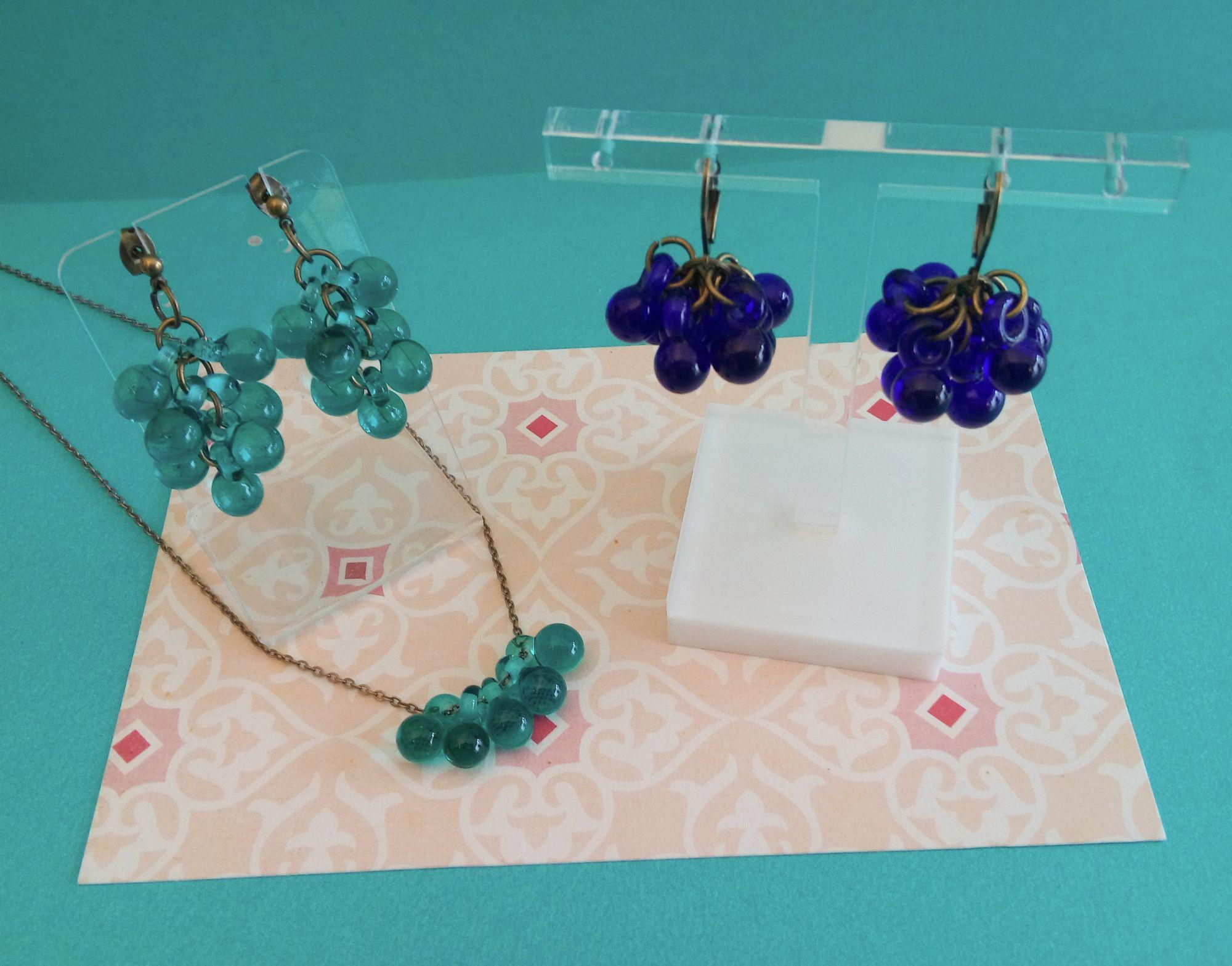 Bijoux en verre filé au chalumeau
