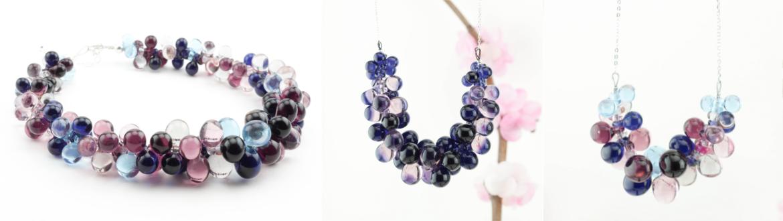 Bijoux en verre Paris artisanat boutique créateur fait-main craft handmade