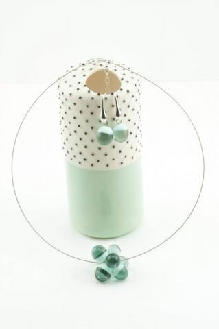 Collection ROMI, bijoux en verre Paris, création artisanale
